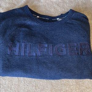 💕(3/$15)💕Tommy Hilfiger blue sweatshirt sz s